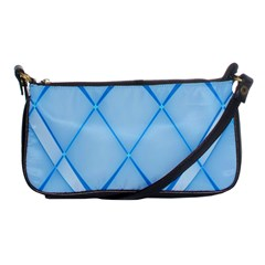 Background Light Glow Blue Shoulder Clutch Bags