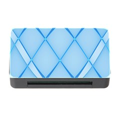 Background Light Glow Blue Memory Card Reader With Cf