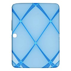 Background Light Glow Blue Samsung Galaxy Tab 3 (10 1 ) P5200 Hardshell Case