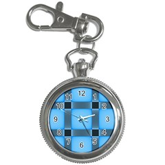 Wall Blue Steel Light Creative Key Chain Watches