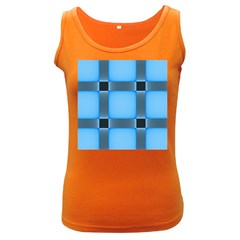 Wall Blue Steel Light Creative Women s Dark Tank Top