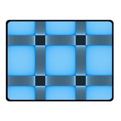 Wall Blue Steel Light Creative Fleece Blanket (small)