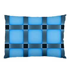 Wall Blue Steel Light Creative Pillow Case (two Sides)