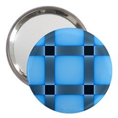 Wall Blue Steel Light Creative 3  Handbag Mirrors