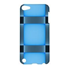 Wall Blue Steel Light Creative Apple Ipod Touch 5 Hardshell Case