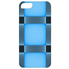 Wall Blue Steel Light Creative Apple Iphone 5 Classic Hardshell Case