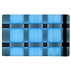 Wall Blue Steel Light Creative Apple Ipad 3/4 Flip Case