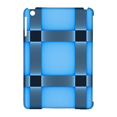 Wall Blue Steel Light Creative Apple Ipad Mini Hardshell Case (compatible With Smart Cover)