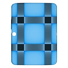Wall Blue Steel Light Creative Samsung Galaxy Tab 3 (10 1 ) P5200 Hardshell Case