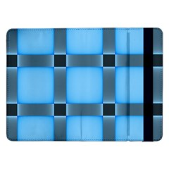 Wall Blue Steel Light Creative Samsung Galaxy Tab Pro 12 2  Flip Case