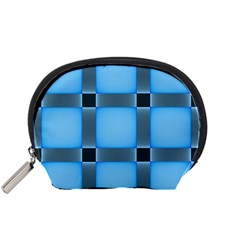 Wall Blue Steel Light Creative Accessory Pouches (small)