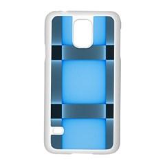 Wall Blue Steel Light Creative Samsung Galaxy S5 Case (white)