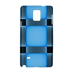 Wall Blue Steel Light Creative Samsung Galaxy Note 4 Hardshell Case