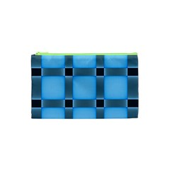 Wall Blue Steel Light Creative Cosmetic Bag (xs)