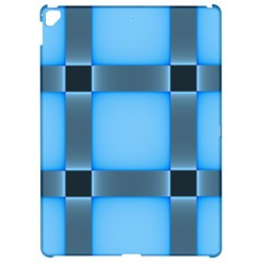 Wall Blue Steel Light Creative Apple Ipad Pro 12 9   Hardshell Case