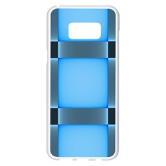 Wall Blue Steel Light Creative Samsung Galaxy S8 Plus White Seamless Case
