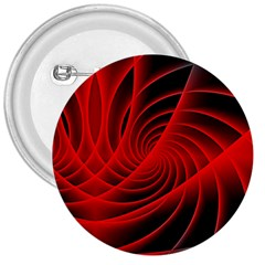 Red Abstract Art Background Digital 3  Buttons