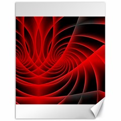 Red Abstract Art Background Digital Canvas 18  X 24