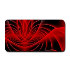 Red Abstract Art Background Digital Medium Bar Mats