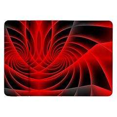 Red Abstract Art Background Digital Samsung Galaxy Tab 8 9  P7300 Flip Case