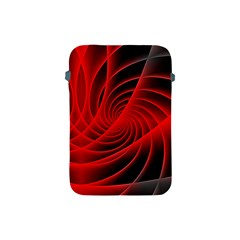 Red Abstract Art Background Digital Apple Ipad Mini Protective Soft Cases
