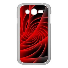 Red Abstract Art Background Digital Samsung Galaxy Grand Duos I9082 Case (white)