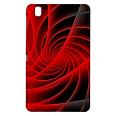Red Abstract Art Background Digital Samsung Galaxy Tab Pro 8 4 Hardshell Case
