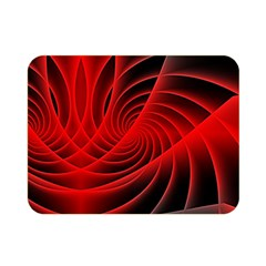 Red Abstract Art Background Digital Double Sided Flano Blanket (mini)
