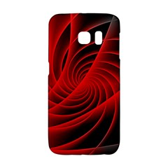 Red Abstract Art Background Digital Galaxy S6 Edge
