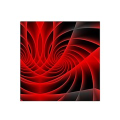 Red Abstract Art Background Digital Satin Bandana Scarf