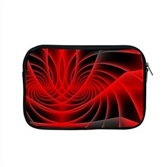 Red Abstract Art Background Digital Apple Macbook Pro 15  Zipper Case