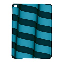 Curtain Stripped Blue Creative Ipad Air 2 Hardshell Cases
