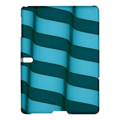 Curtain Stripped Blue Creative Samsung Galaxy Tab S (10 5 ) Hardshell Case