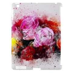 Flowers Roses Wedding Bouquet Art Apple Ipad 3/4 Hardshell Case (compatible With Smart Cover)