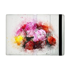 Flowers Roses Wedding Bouquet Art Apple Ipad Mini Flip Case