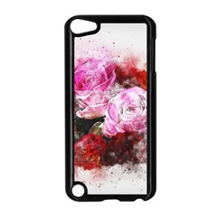 Flowers Roses Wedding Bouquet Art Apple Ipod Touch 5 Case (black)