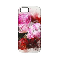 Flowers Roses Wedding Bouquet Art Apple Iphone 5 Classic Hardshell Case (pc+silicone)