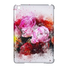 Flowers Roses Wedding Bouquet Art Apple Ipad Mini Hardshell Case (compatible With Smart Cover) by Nexatart
