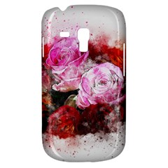 Flowers Roses Wedding Bouquet Art Galaxy S3 Mini by Nexatart