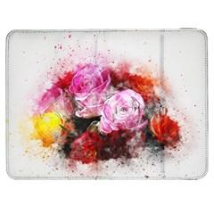 Flowers Roses Wedding Bouquet Art Samsung Galaxy Tab 7  P1000 Flip Case