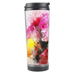 Flowers Roses Wedding Bouquet Art Travel Tumbler