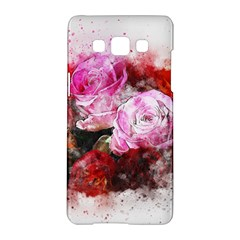 Flowers Roses Wedding Bouquet Art Samsung Galaxy A5 Hardshell Case