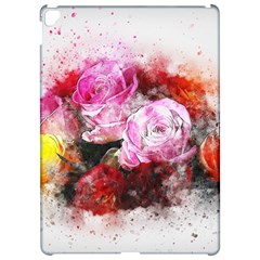 Flowers Roses Wedding Bouquet Art Apple Ipad Pro 12 9   Hardshell Case by Nexatart