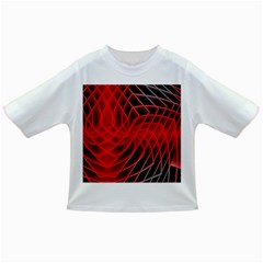 Abstract Red Art Background Digital Infant/toddler T Shirts