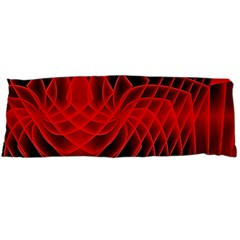 Abstract Red Art Background Digital Body Pillow Case Dakimakura (two Sides)