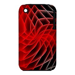 Abstract Red Art Background Digital Iphone 3s/3gs