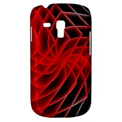 Abstract Red Art Background Digital Galaxy S3 Mini