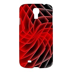 Abstract Red Art Background Digital Samsung Galaxy S4 I9500/i9505 Hardshell Case