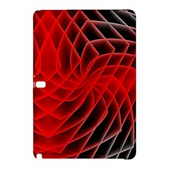 Abstract Red Art Background Digital Samsung Galaxy Tab Pro 10 1 Hardshell Case