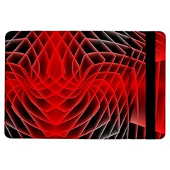 Abstract Red Art Background Digital Ipad Air Flip